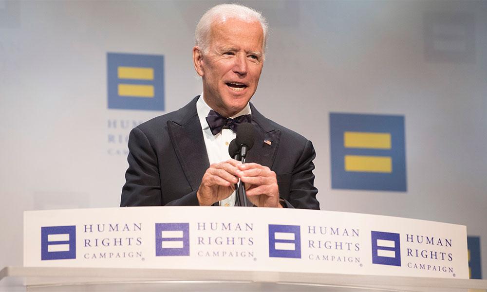 Joe Biden Calls Homophobia a 'Disease' During LGBT Dinner Speech