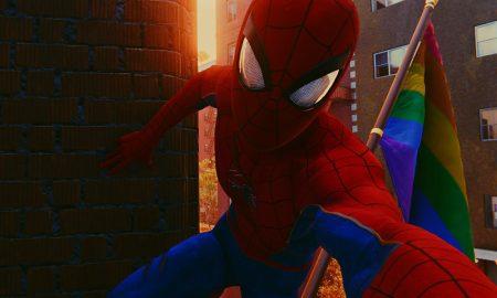 Spider Man Pride Flag