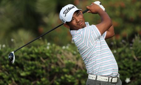 Tadd Fujikawa playing golf