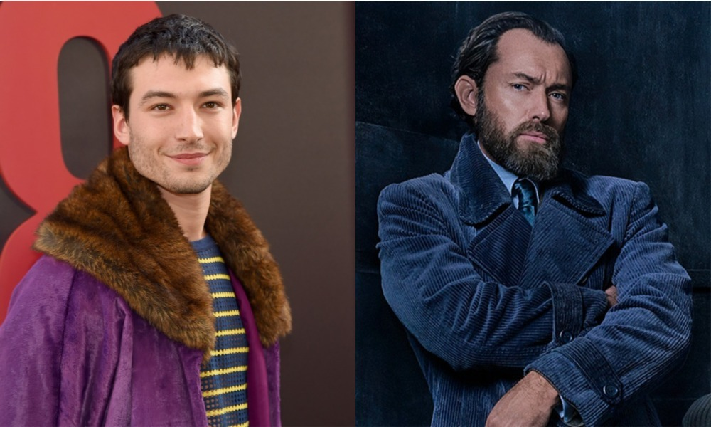 Ezra Miller Says Dumbledore Is Gay in 'Fantastic Beasts 2'