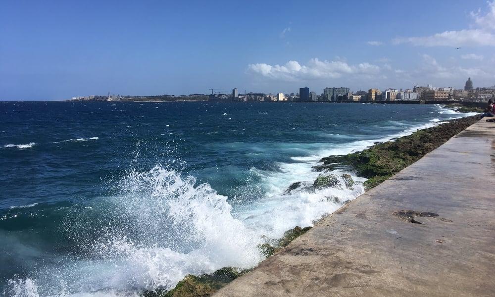 Havana Cuba seaside