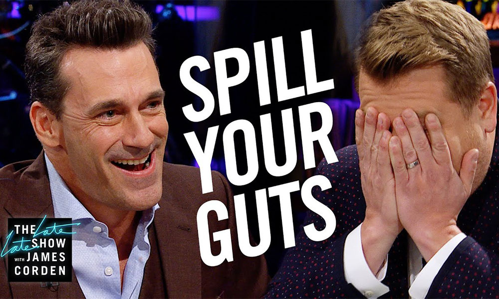 James Corden Asked Jon Hamm About the Size of His 'Hammaconda'