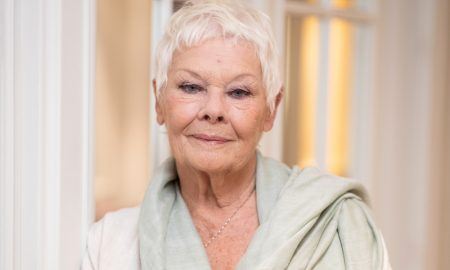 Judi Dench poses for a portrait