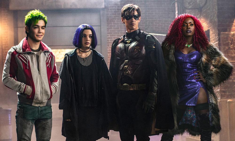 Cast of 'Titans' on the DC Universe Platform