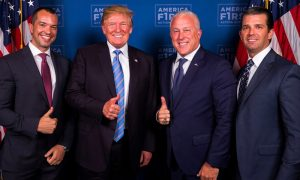 Bill White and Bryan Eure with President Trump