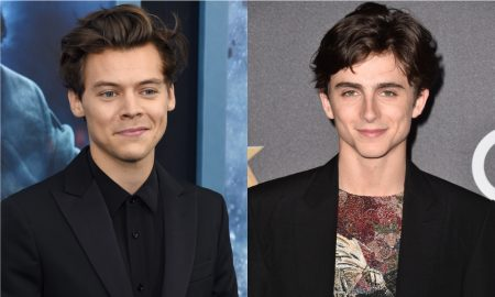 Harry Styles and Timothee Chalamet