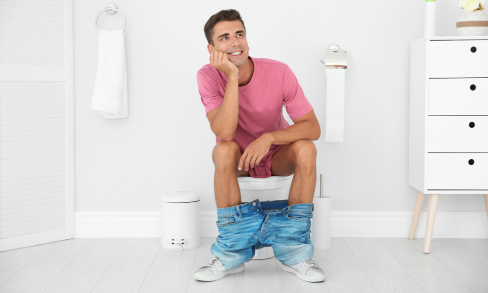 上厕所的人