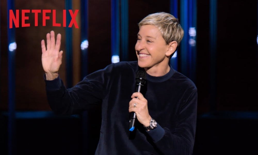 Ellen DeGeneres Returns to the Stage for Netflix Special