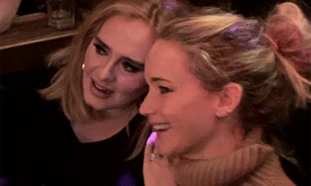 Adele and Jennifer Lawrence Get Rowdy at a NYC Gay Bar