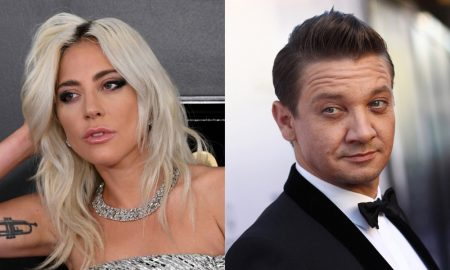 Lady Gaga and Jeremy Renner