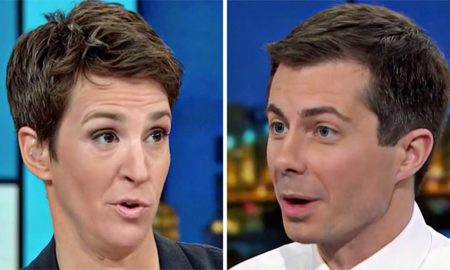 Pete Buttigieg and Rachel Maddow Exchange Coming Out Stories