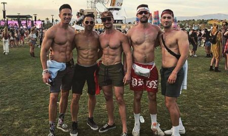 Coachella Gays in Aaron Schock Photo Say He Owes Them an Apology