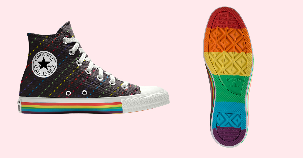 converse debuts its colorful 2019 pride collection  gayety