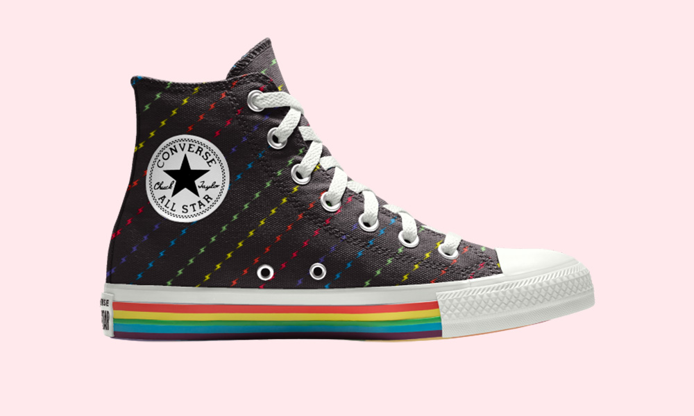Converse Debuts Its Colorful 2019 Pride Collection