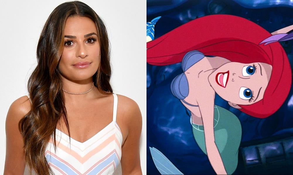Lea Michele lands lead role in 'The Little Mermaid'