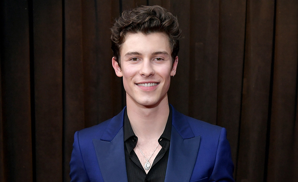 Shawn Mendes attends the 61st Annual GRAMMY Awards