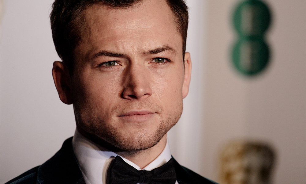 Taron Egerton attends the EE British Academy Film Awards