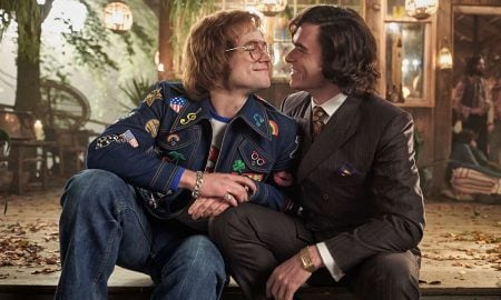 Taron Egerton and Richard Madden in 'Rocketman'