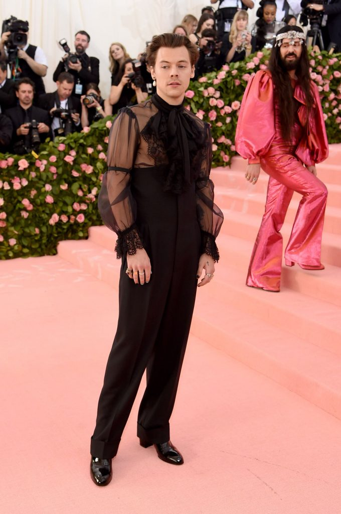 Harry Styles attends The 2019 Met Gala