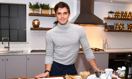 Antoni Porowski demonstrates preparing a signature dish