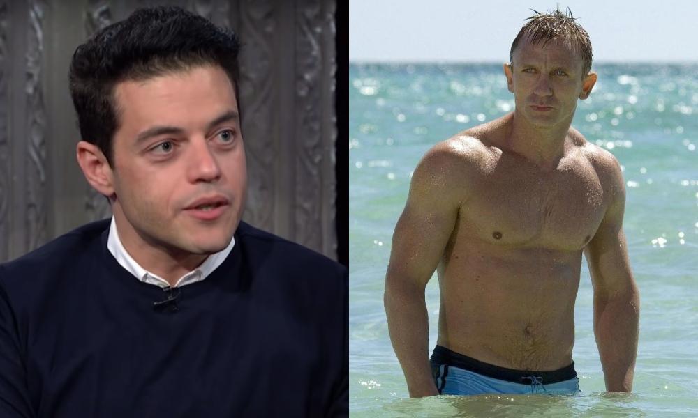 Daniel Craig Kissed Rami Malek on Set of 'No Time to Die'