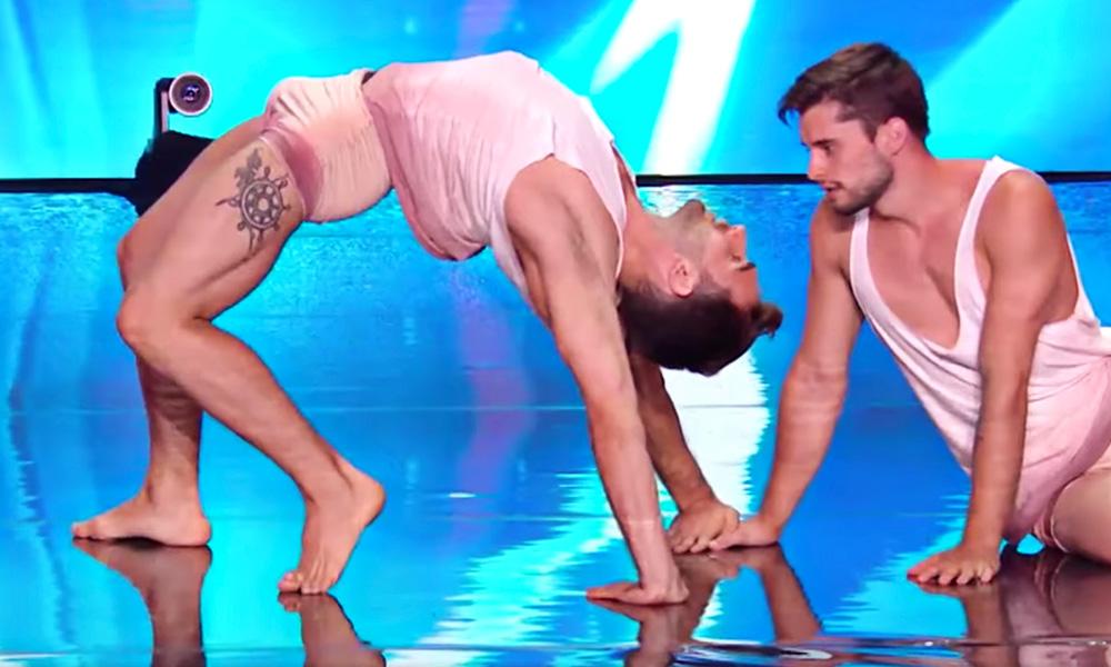 Gay Acrobats Wow 'France's Got Talent' Judges