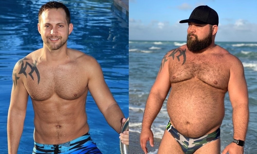 Gay Man Transforms From Jock to Bear in 5 Years