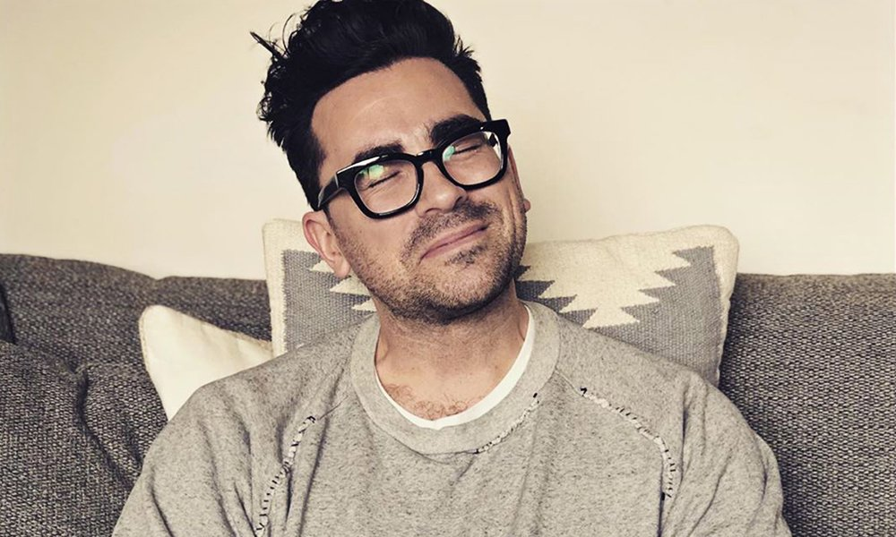 'Schitt's Creek' Star Dan Levy Cries Over Fan's Coming Out