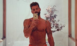 Ricky Martin's Instagram Story Leaves Fans Thirsty