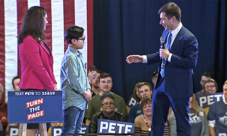 This 9-Year-Old Boy Came Out During Pete Buttigieg's Denver Rally