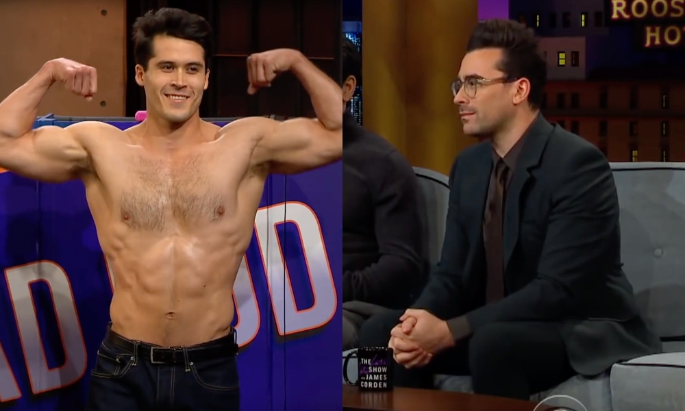 Dan Levy Guesses Which Guys Have 'Rad Bods' and 'Dad Bods'