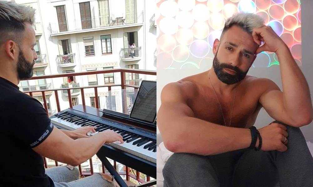Gay Pianist Performed 'My Heart Will Go On' for His Quarantined Neighbors