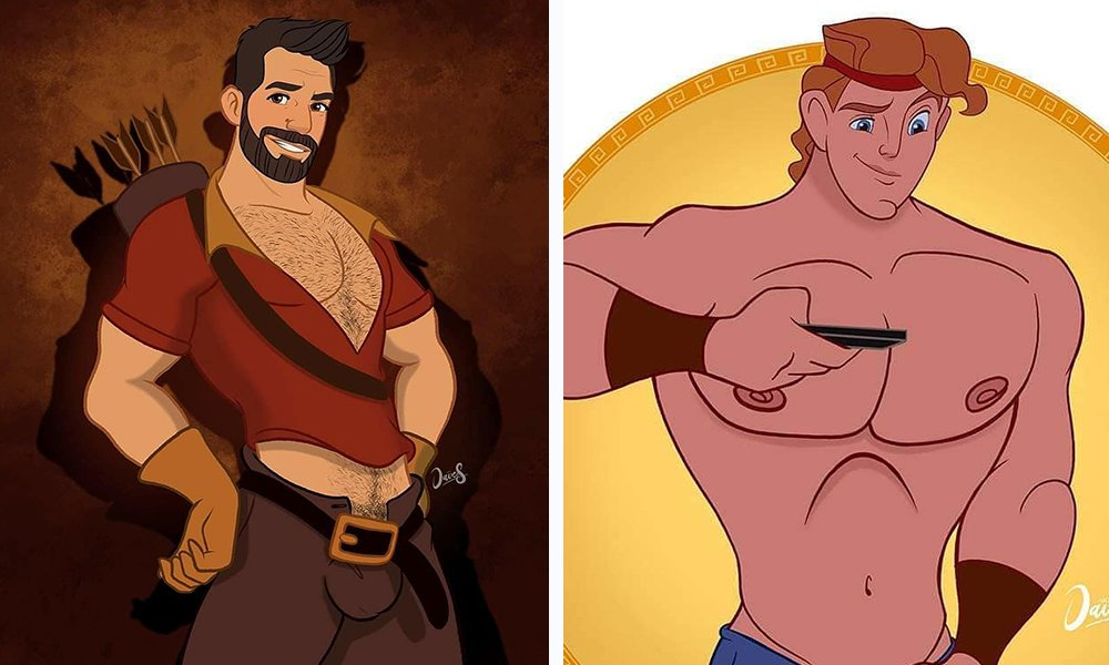 7 Disney Characters Reimagined As Queer AF