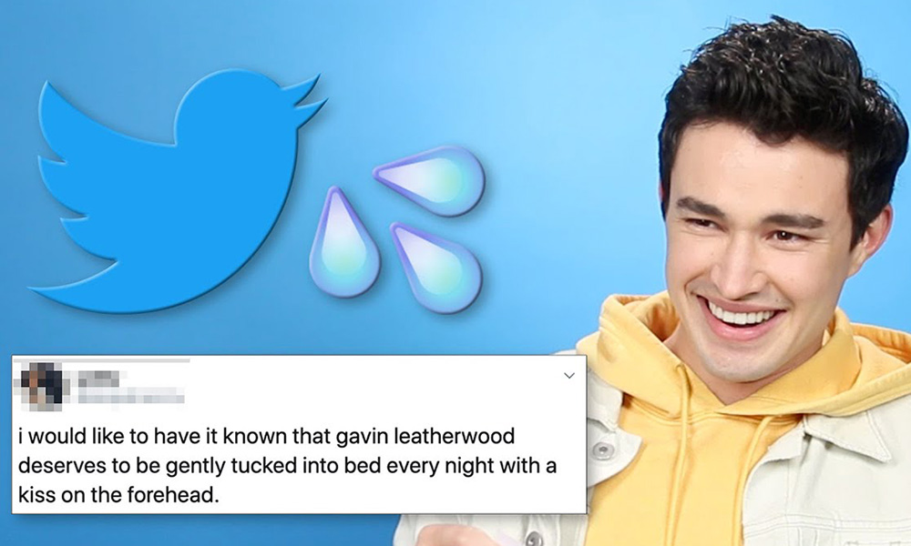 Gavin Leatherwood Hilariously Reacts to Super Thirsty Tweets