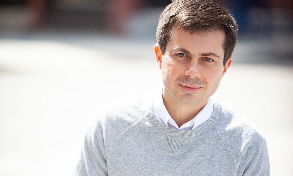 Mayor Pete Shaved His Head and Grew a Beard