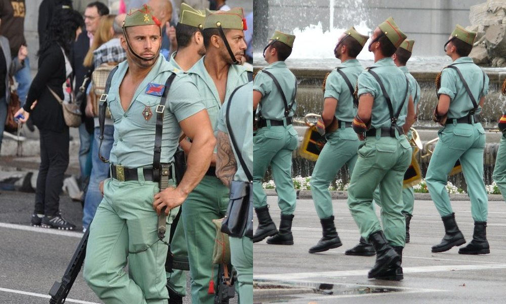 Everyone's Thirsty AF for the Elite Spanish Army's Uniforms