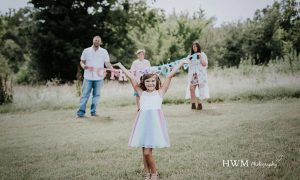 Parents Celebrate Their Trans Daughter with Gender Reveal Photoshoot