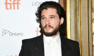 Game of Thrones Star Kit Harington Caught on Camera Adjusting Himself