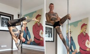 Gay Amputee Andrew Gregory is a Pole Dancing Champion