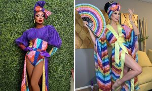 4 Drag Stars Create Stunning Looks Inspired by LGBTQ+ History