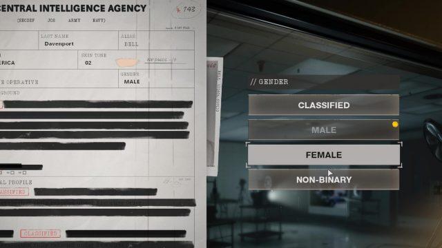 non-binary call of duty