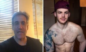 Michael Cohen Expresses Admiration to Gay Adult Star on Cameo