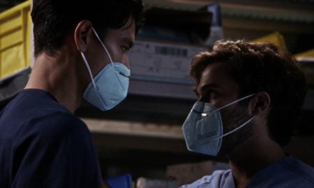 'Grey's Anatomy' Premiere Features First Pandemic BJ