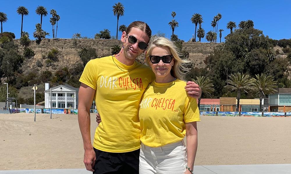 Chelsea Handler and Brandon Marlo