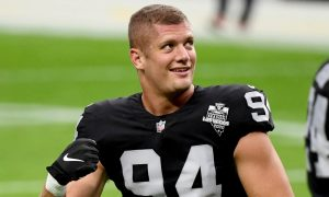Raiders player Carl Nassib comes out as gay, first active player in NFL history